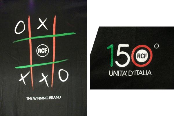 RCF-オリジナルTシャツ袖ロゴ