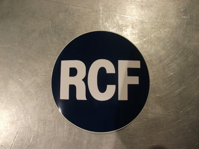 RCF ロゴステッカー