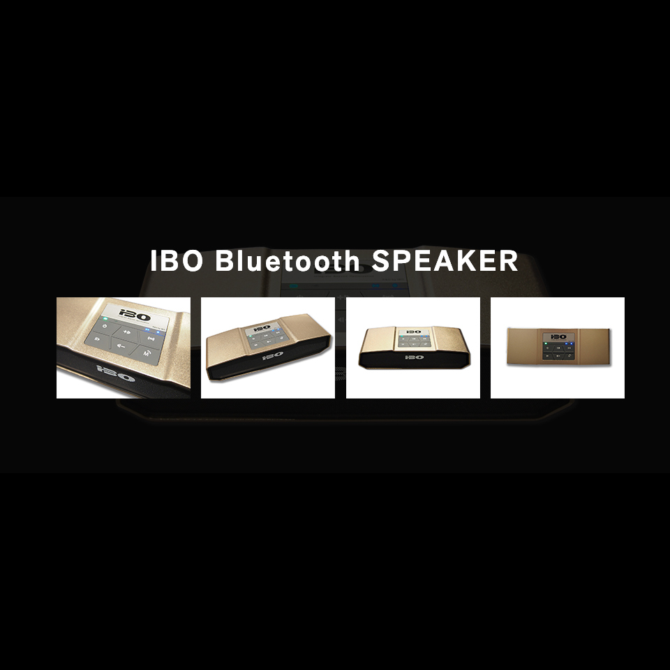 """IBO Bluetooth SPEAKER"" 取り扱い決定!"