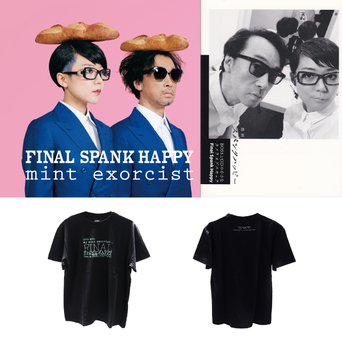 FINAL SPANK HAPPY / mint exorcist ツアーグッズ販売開始!