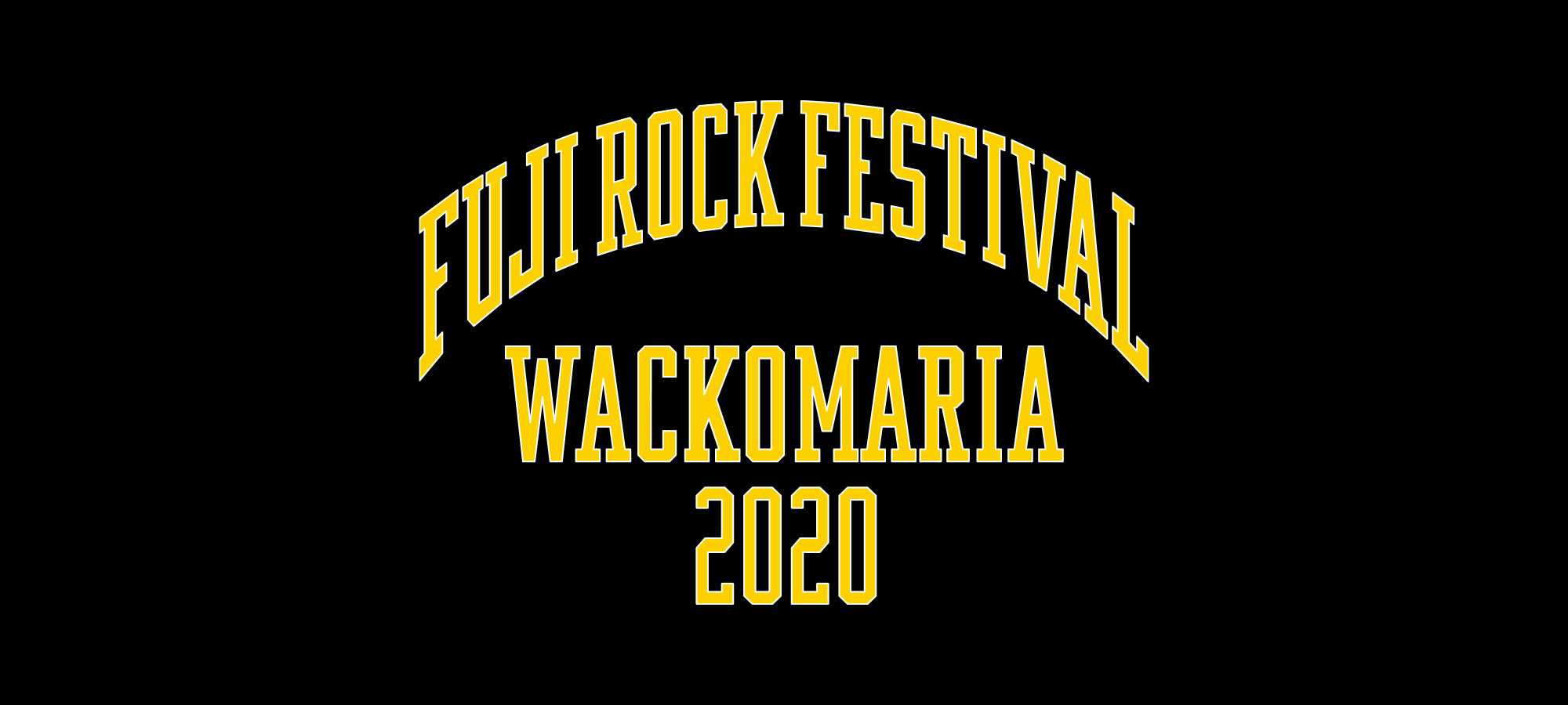 FUJIROCK COLLECTION 2020